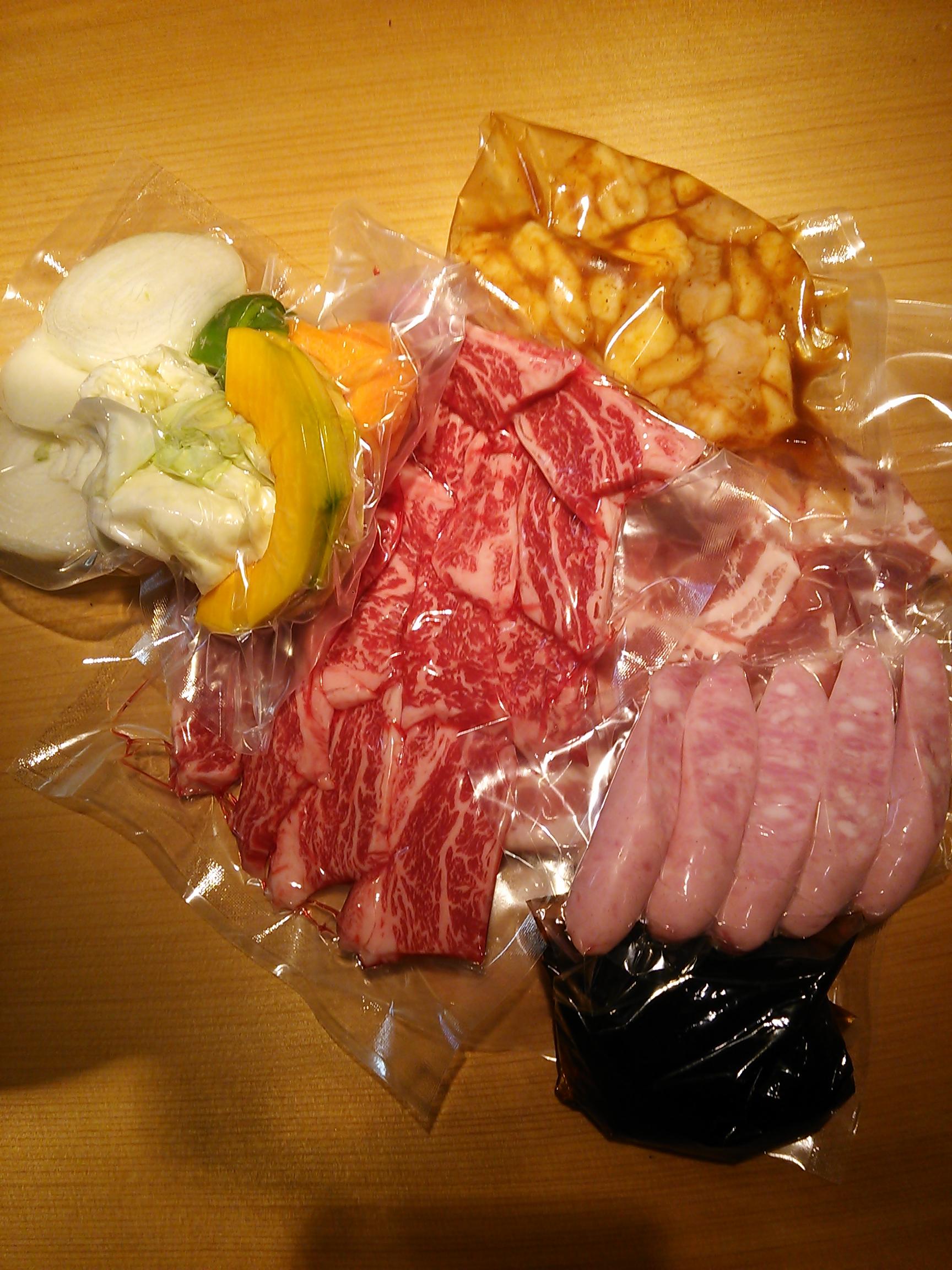 焼肉びーとん BBQお肉販売